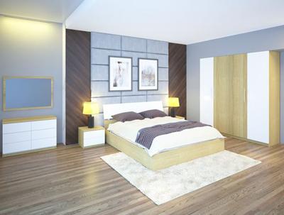 Bộ giường tủ phòng ngủ cao cấp 301