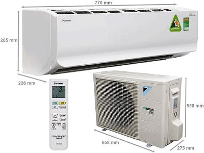Máy lạnh Daikin FTKC25TVMV