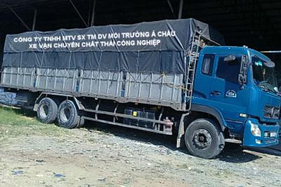 Vận chuyển, xử lý chất thải công nghiệp