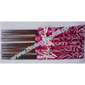Đũa gỗ cẩm lai trơn vuông