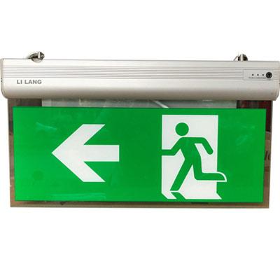 Đèn Exit kính trong Lilang 2 mặt có chỉ hướng XF-BLZD-2LREI 3WB