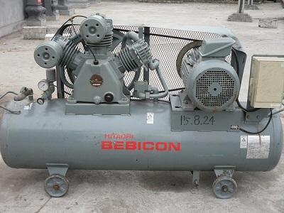 Máy nén khí piston có dầu Hitachi 11kw
