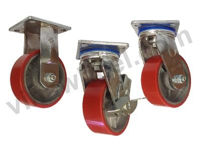 Bánh xe đẩy SIKU-PU 100x50mm