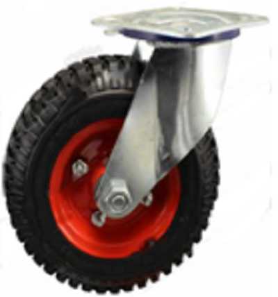 Bánh xe đẩy càng B-250-4 đỏ
