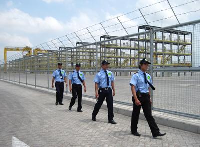 Bảo vệ công ty nhà máy, công trường