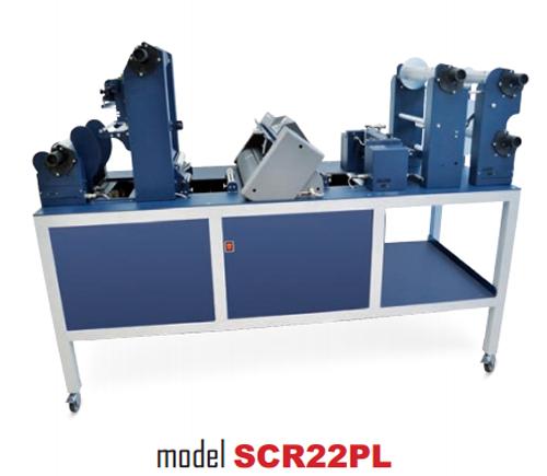 Máy bế nhãn cuộn SCR22PL