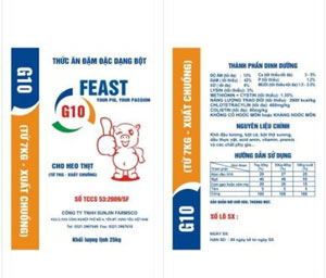 Bao Thức Ăn Đậm Đặc Feast G10