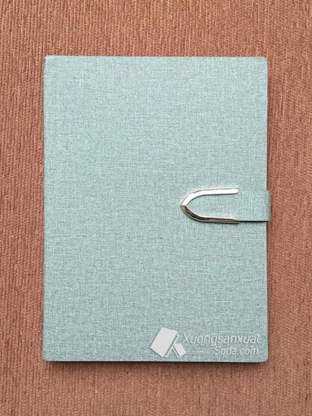 Sổ lò xo bìa da PU 135