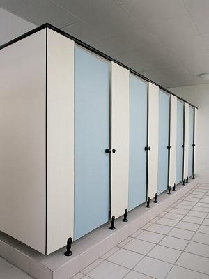 Vách năng vệ sinh Compact HPL