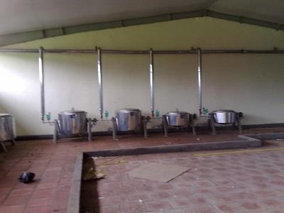 Hệ thống nấu ăn bằng hơi