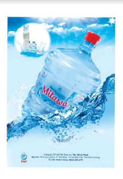 Nước tinh khiết đóng bình 20 Lít