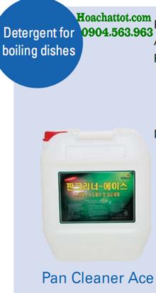 Hóa chất rửa bát đĩa đồ luộc Pan Cleaner Ace