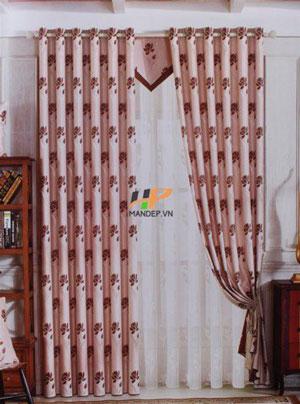 Rèm vải gấm nhung