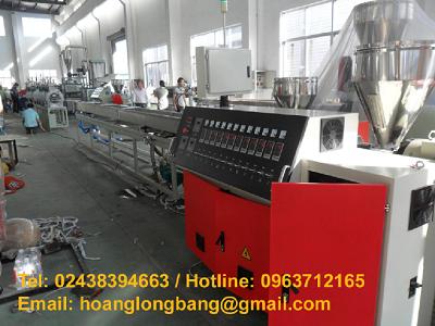 Dây chuyền sản xuất thanh nẹp nhựa PVC và PS