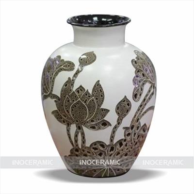Bình hoa trang trí Inoceramic 3013S