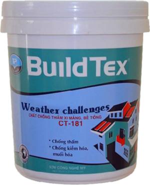 BuildTex - Sơn chống thấm, chống rêu mốc CT - 181
