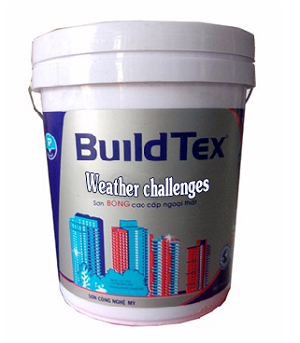BuildTex - Sơn siêu bóng cao cấp ngoại thất