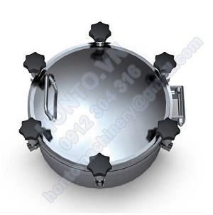 Cửa áp lực bồn Tank Inox tròn HONTO-A-YAA
