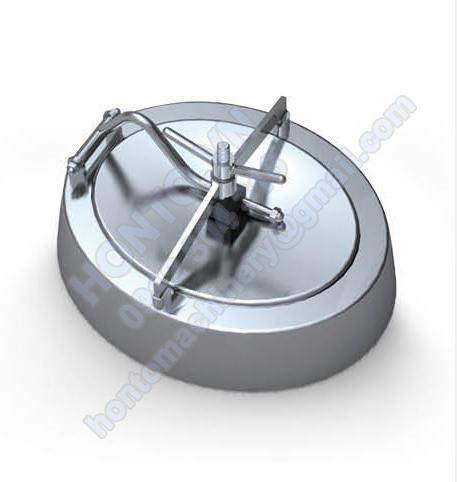 Cửa e-lip bồn Tank Inox nghiêng trong HONTO-C-B