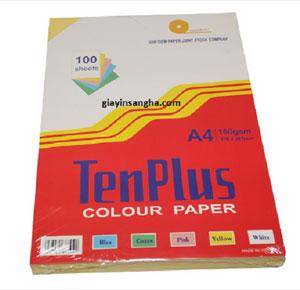 Giấy bìa màu TenPlus
