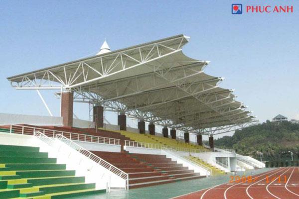 Mái che Sân Thể thao Đa năng