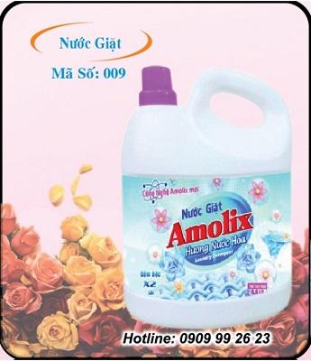 Nước giặt Amolix