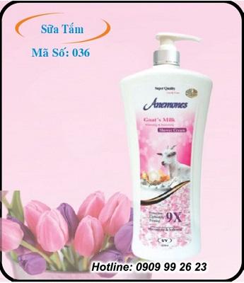 Sữa tắm Anemones