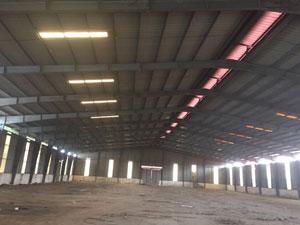 Khung nhà xưởng rộng 50m