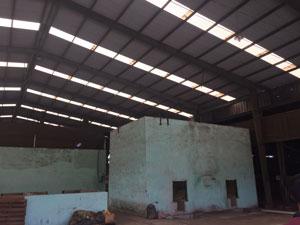 Khung nhà xưởng rộng 60m Đồng Nai