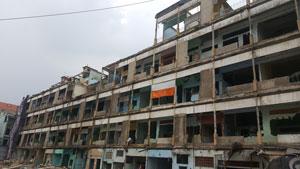 Tháo dỡ chung cư