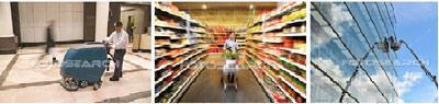 Dịch vụ vệ khu trung tâm thương mại, siêu thị, nhà hàng