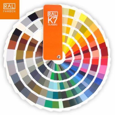 Quạt màu RAL K7