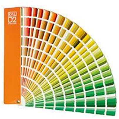 Quạt màu RAL Design System – RAL D2