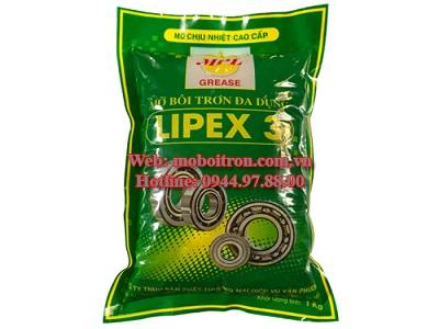 Mỡ chịu nhiệt Lipex 3