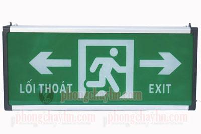 Đèn Exit 2 mặt hai hướng