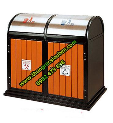 Thùng rác gỗ A78-0