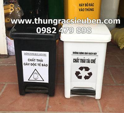 Thùng rác Y tế 25L