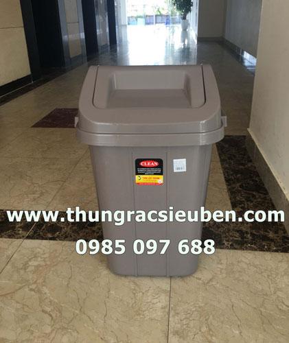Thùng rác lật 60L