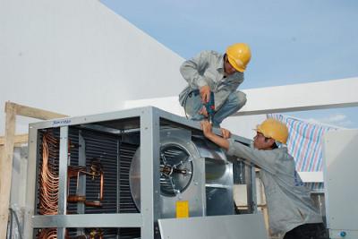 Lắp đặt bảo trì máy lạnh công nghiệp tại Biên Hoà