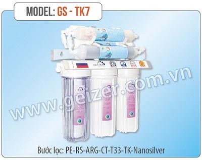 Máy lọc nước Nano Geyser GS-TK7