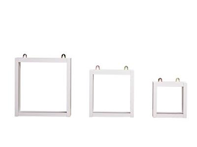Kệ 3 ô ghép hình vuông