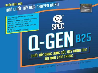 Chất tẩy dạng lỏng gốc Oxy Q GEN B25