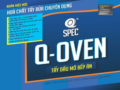 Chất tẩy dầu mỡ bếp ăn Q OVEN