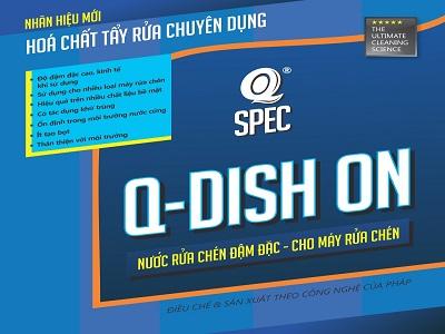 Nước rửa chén đậm đặc Q DISH ON
