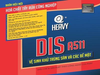 Chất khử trùng công nghiệp DIS A511
