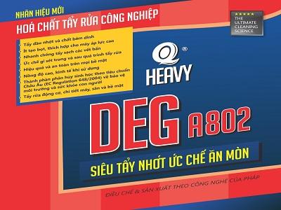 Chất tẩy dầu nhớt DEG A802