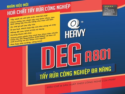 Chất tẩy dầu nhớt DEG A801