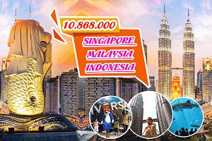 Tour Du Lịch Singapore Malaysia Indonesia 6N5Đ
