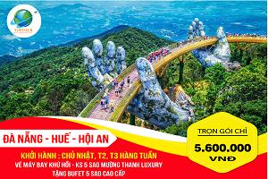 Tour Du Lịch Đà Nẵng – Huế – Hội An 4N3Đ Hè
