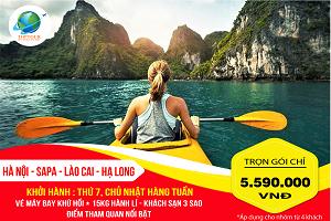 Tour Du Lịch Hà Nội – Sapa – Lào Cai – Hạ Long 5N4Đ Từ Hồ Chí Minh